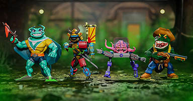 Horsemen for Hire: Super7 Unveils the Latest Wave of TMNT ULTIMATES!