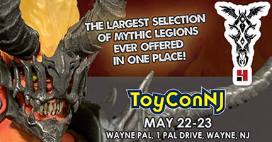 Four Horsemen Studios Invades ToyConNJ with our LARGEST Selection of Items Ever!